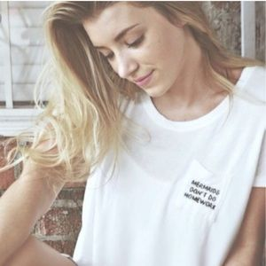 Brandy Melville T-shirt. One Size Fits Most
